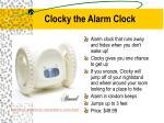 clocky the alarm clock