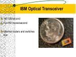 ibm optical transceiver