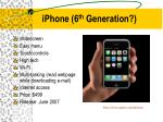 iphone 6 th generation