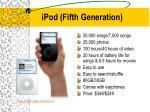 ipod fifth generation