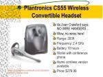 plantronics cs55 wireless convertible headset