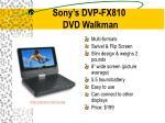 sony s dvp fx810 dvd walkman