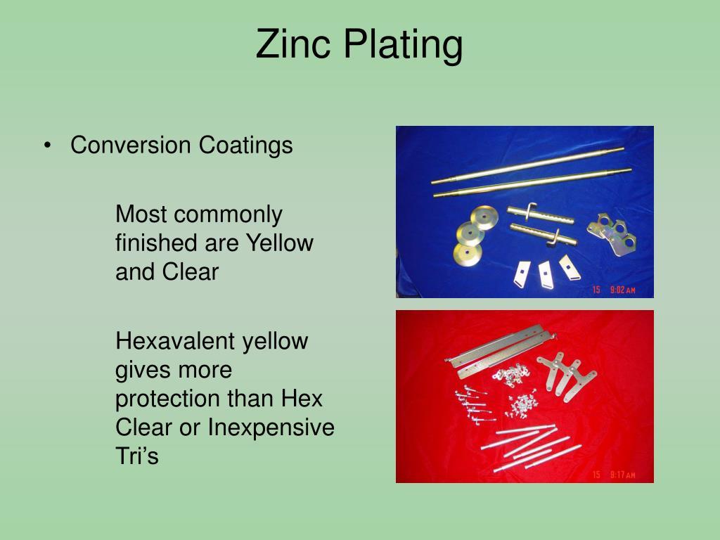 PPT - Ion Exchange Purification of Trivalent Zinc