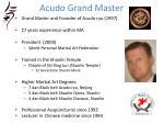 acudo grand master