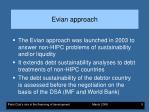 evian approach
