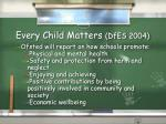 every child matters dfes 2004