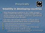 procyclicality46