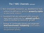 the 7 nrc channels continued11