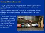 therapod saurichians cont21