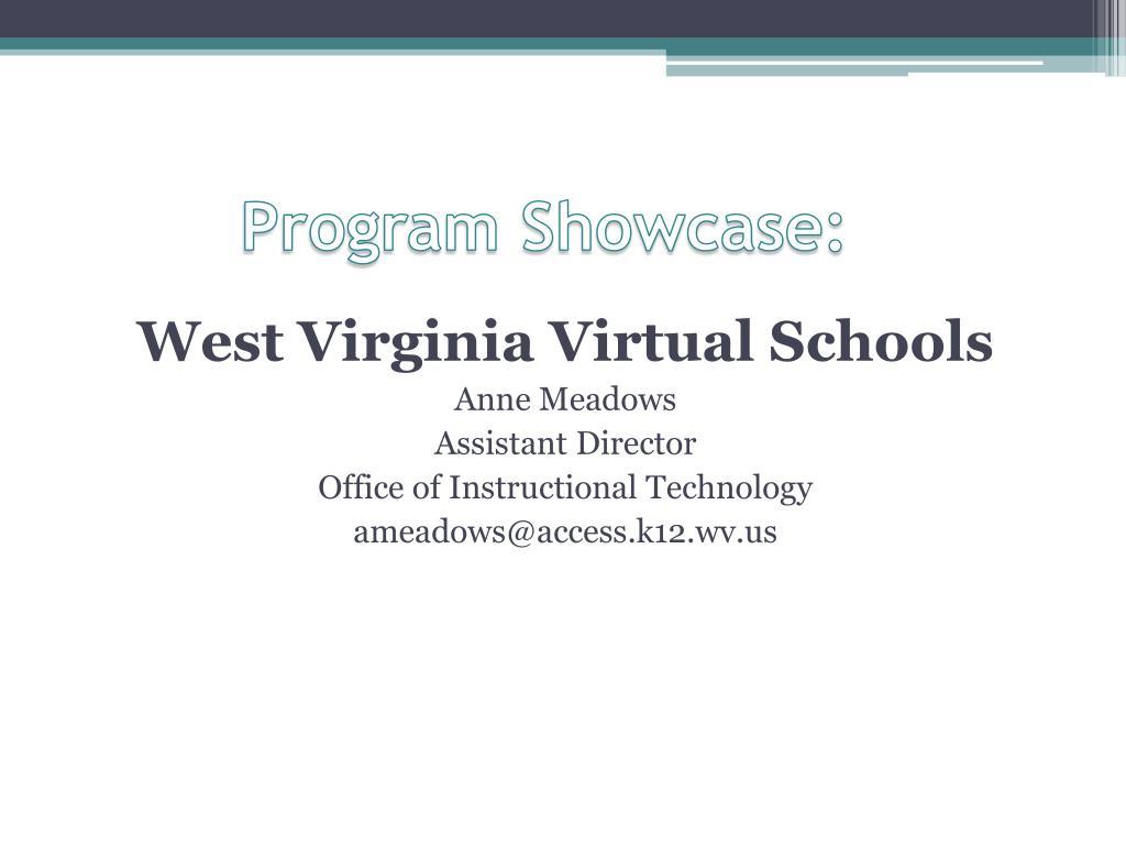 Program Showcase: