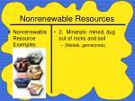 nonrenewable resources13