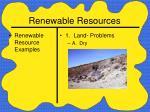 renewable resources17