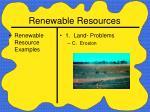 renewable resources19