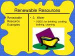renewable resources22