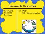 renewable resources24