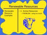 renewable resources27