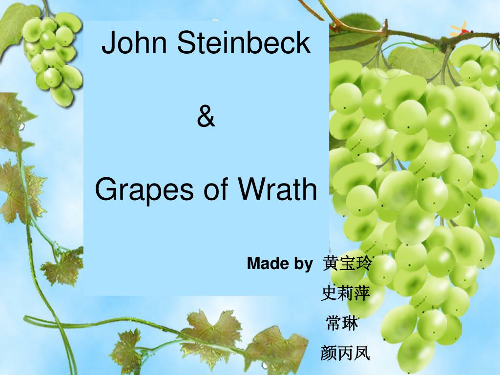 john steinbeck grapes of wrath l.