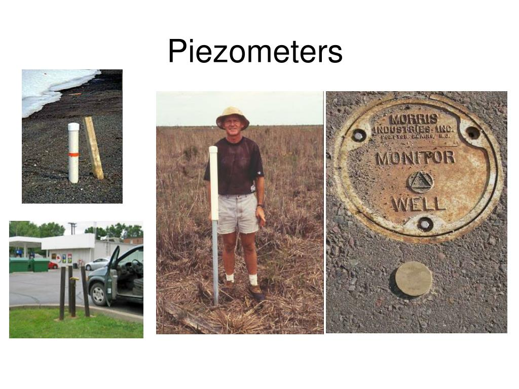 piezometers l.