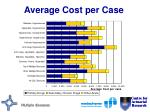 average cost per case29