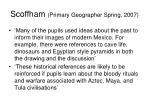 scoffham primary geographer spring 2007