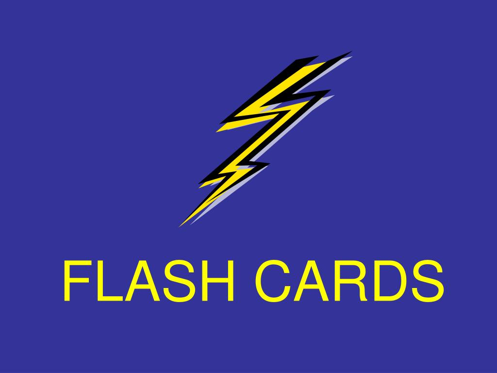flash cards l.