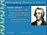 philosophical theories of privacy12