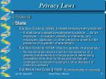 privacy laws37