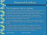 proposed findings43