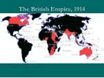 the british empire 1914