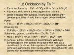 1 2 oxidation by fe 3