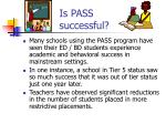 is pass successful13