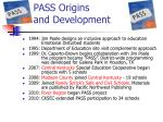 pass origins and development