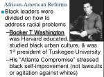 african american reforms40