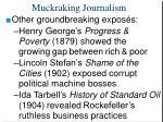 muckraking journalism21