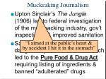 muckraking journalism22
