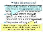 what is progressivism