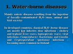 1 water borne diseases