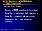 do consumers with fhb go to their physicians