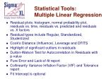 statistical tools multiple linear regression48