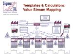 templates calculators value stream mapping