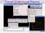 example of cfd process reports