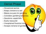 denial phase