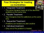 four strategies for treating co morbidities
