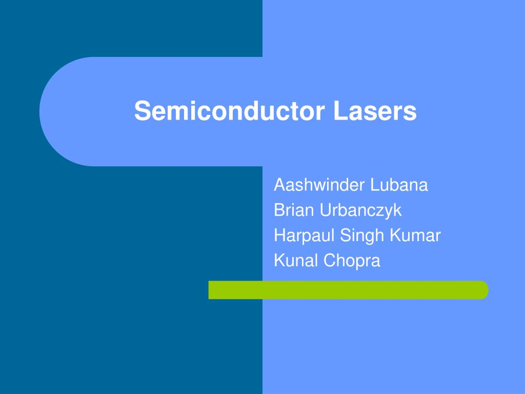 semiconductor lasers l.