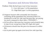 insurance and adverse selection26