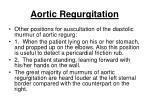 aortic regurgitation33