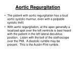 aortic regurgitation43