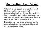 congestive heart failure23