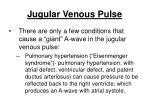 jugular venous pulse198