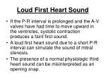 loud first heart sound171